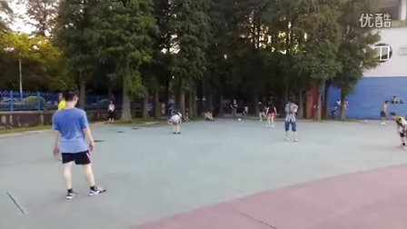130804B 广外围踢 踢毽子 Shuttlecock 毽子对踢 广州毽球 竞技毽