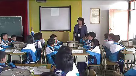 KX10科学四年级上册振动与声音声音的产生粤教科技版冯艳妹横栏六沙小学