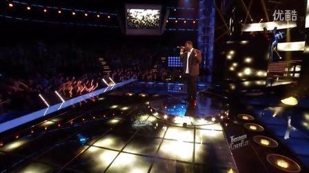 【Edwin】美国之声12强-Trevin Hunte演唱《当一个男人爱上一个女人》超清现场