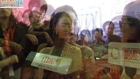 2012南昌国际车展超模艾尚真
