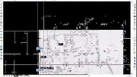 autocad手稿放样(室内设计教程)装修设计培训视频 厦门室内设计培训视频