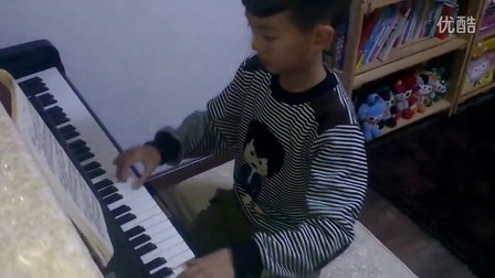 『洪韬壹』钢琴练习『洋娃娃和小熊跳舞片段』