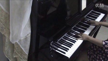许嵩《清明雨上》钢琴视奏版_tan8.com