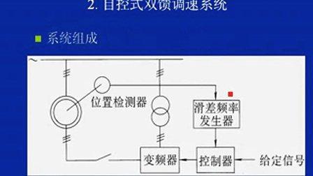 绕行转子异步电机双馈调速系统4 04双闭环控制的串级调速系统