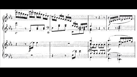 Hamelin plays Beethoven - Piano Concerto No.5 (III) 乐谱
