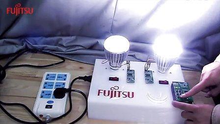 富士通半导体-MB39C602智能调光演示