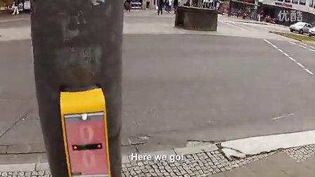 Streetpong:过马路时也能玩游戏