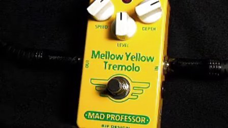 Mad Professor Mellow Yellow Tremolo Pedal