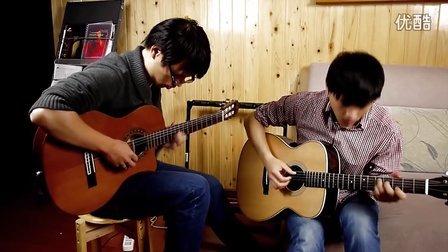 《我的太阳》jazz版,承林,大唐即兴双吉他