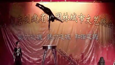 北京杂技单手倒立技巧