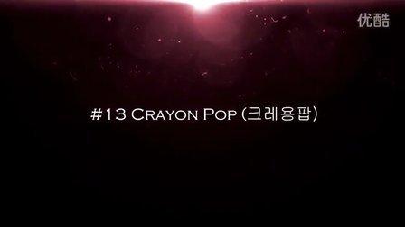 【韩国女团】女团 TOP22【2014】