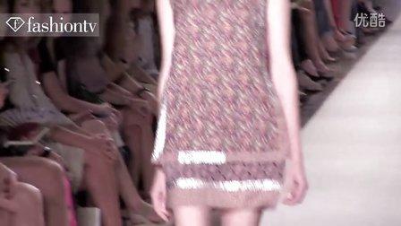 时装周-凡妮莎·布鲁诺(VANESSA BRUNO)走道秀-巴黎2012春季时装周