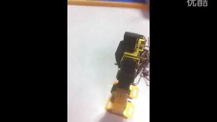 机器人手动投球演示