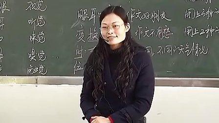 八年級語文感知能力训练 1课堂实录与教师说课