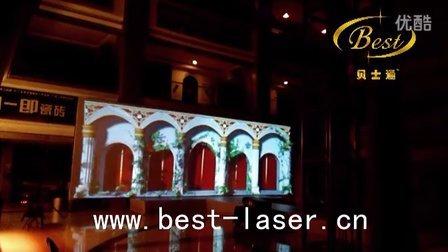 3D全息灯光秀-宫殿造景