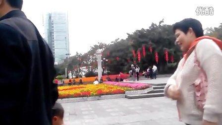 广州街头残疾人演唱会