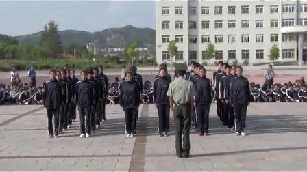 19.丹东市民族学校2012级新生军训队列比赛-8月29日
