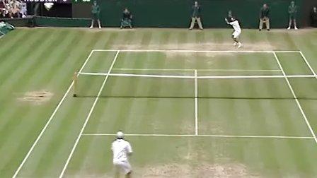2005 温网 费德勒vs罗迪克