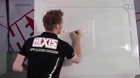 HEXIS汽车改色甲壳虫施工作业视频现场教学5