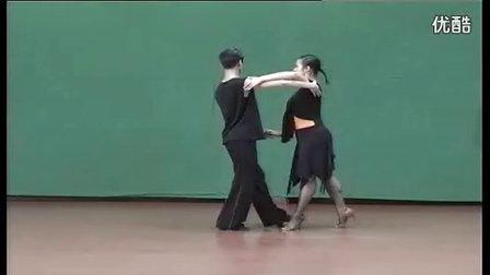 桑巴舞教学银牌级3男女套路组合