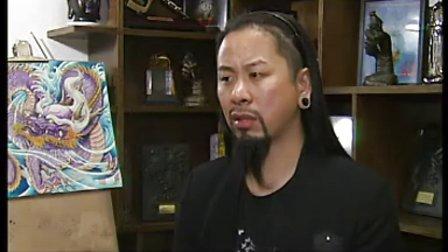 中央电视台采访之异绣堂纹身