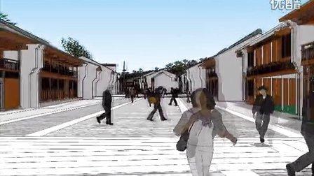 【古元建筑作品】湖南益阳石码头明清古巷保护规划
