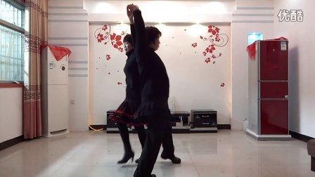 宜阳灵山广场舞双人三步藕断丝连