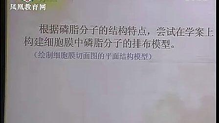 高一细胞膜流动镶嵌模型 2011年江苏省高中生物优质课评比活动课堂教学实录 3