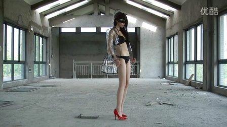 性感美女透明三点式艳舞