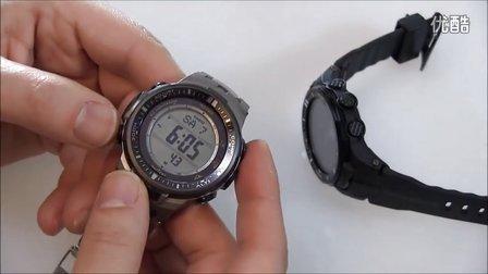 Casio Pro Trek PRW3000 测评