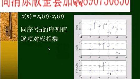 武汉理工 数字信号处理 40讲 全套视频教程下载加QQ896730850