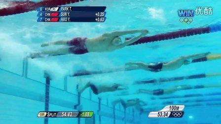 中国男泳奥运首金完整版
