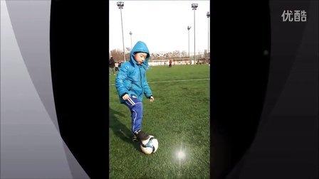 北京国奥越野足球俱乐部U5年龄组基本技术训练(球感部分)