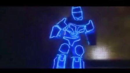 穿戴式机器人-光影机器人--博乐机器人表演
