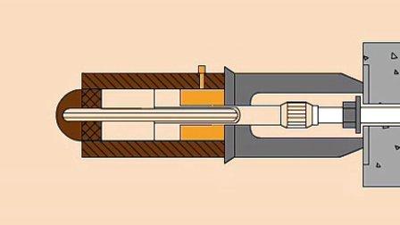 【全套建筑工程施工动画+施工工艺】拉杆式千斤顶工作过程