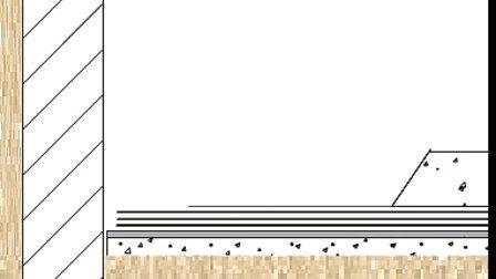 【全套建筑工程施工动画+施工工艺】卷材防水层施工外帖法