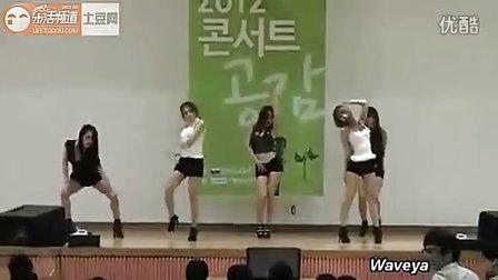 韩国性感的学生妹大秀热舞