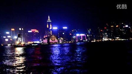 【小羊和桃子的2012香港游】乘天星小轮游维多利亚港