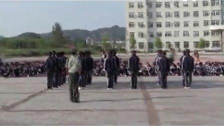 28.丹东市民族学校2012级新生军训队列比赛-8月29日