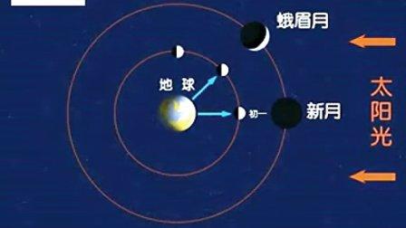 科学―五年级下册―地球、太阳和月球月相的成因―粤教科技版―徐卫忠―小榄德星小学
