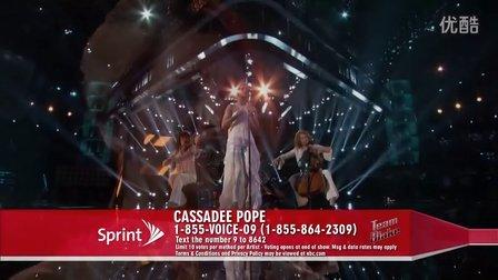 【猴姆独家】Cassadee Pope惊艳献唱Miranda Lambert热单Over You