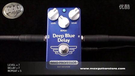 Max Guitar Store - Mad Professor Deep Blue Delay