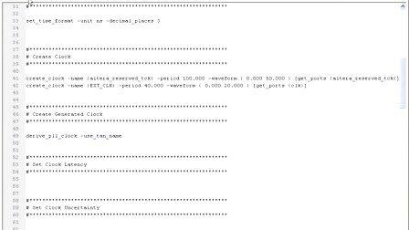 《特权和你一起学NIOS2》Lesson 5 SDRAM时序收敛