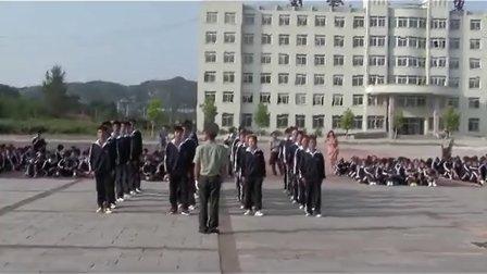 30.丹东市民族学校2012级新生军训队列比赛-8月29日