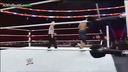 wwe2014皇家大战 自制解说 WWE 2014 皇家大战 兰迪奥顿VS约翰塞纳互用对方终结技
