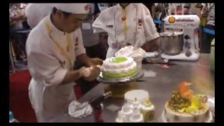 2009年深圳市刘科元西点蛋糕烘焙培训学校参加广州展会