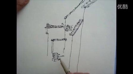 湖南科技职业学院--建筑风景速写技法
