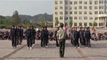 32.丹东市民族学校2012级新生军训队列比赛-8月29日
