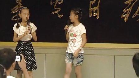 中国寿光网小主持人第一期汇报演出