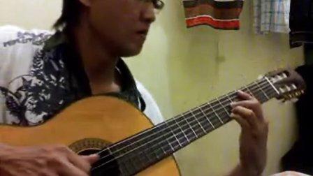 暗号 - 周杰伦 - 吉他独奏 - handoyomia